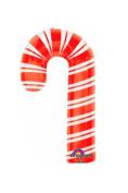 XL 90cm Candy Cane Christmas Mylar Foil Balloon Super Shape Party Decoration