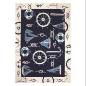 Coastal Style Nautical Doormat