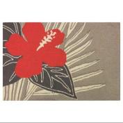 Gala Hibiscus Doormat