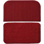 Garland Rug Herald Square 2pc Kitchen Rug Slice and Mat, 46cm x 70cm