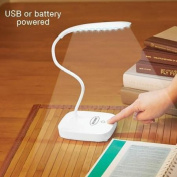 Led White Touch Lamp
