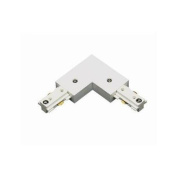Cal Lighting HT2-275 Track Lighting Indoor Lighting Connectors ;Frosted White