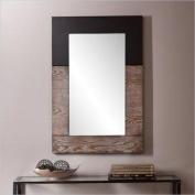 Holly & Martin Wagars Mirror, Burnt Oak/Black