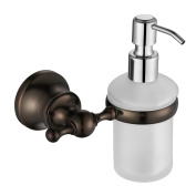 Angle Simple GB8311 Wall Mounted Soap Dispenser Holder, Oil Rubbed Bronze