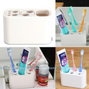 Toothbrush Toothpaste Holder Tidy Organiser Bathroom Storage Container Freestand