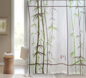 Get Orange®classical Bamboo Polyester Curtain Shower Curtain Liners 180cm X 180cm