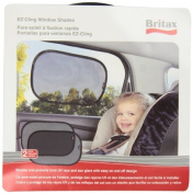 Britax EZ-Cling Sun Shades, Black, 2 Count by Britax