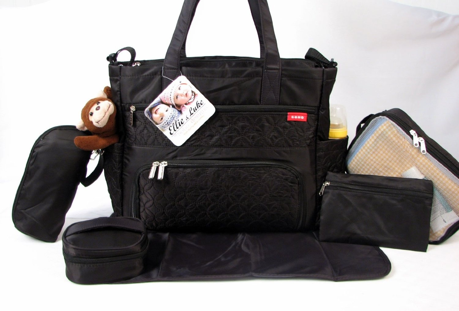 baaa7c31e94b SoHo Collection, Williamsburg 6 pieces Nappy Tote Bag set * Limited Tme  Offer! *