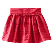 OshKosh Girls' Taffeta Skirt - Red Velvet-2T