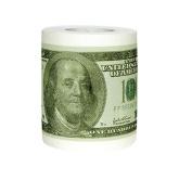 $100 Money One Hundred Dollar Bill Toilet Paper Novelty Fun TP Roll Gag Gift New
