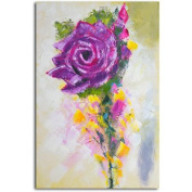 Omax Decor 'A Rose by Any Other Colour' Original Painting on Canvas