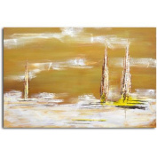Omax Decor 'The Dusk of Time' Original Painting on Canvas