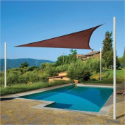 ShelterLogic ShadeLogic 3.7m Triangle Sun Shade Sail in Terracotta