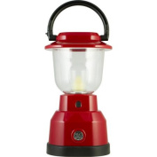 GE Enbrighten Weather-Resistant Dimmable Lantern, Crimson Red