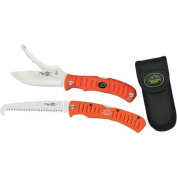 Outdoor Edge Cutlery Flip N' Blaze / Saw Combo Knife, Orange