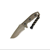 Micro Tech Knives 1022TA Microtech Currahee T/E with Tan Handles Multi-Coloured