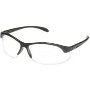 Howard Leight HL2000 Youth Safety Glasses, Black Frame, Clear Lens