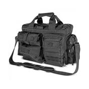 Kilimanjaro Tectus Tactical Briefcase Conceal Carry Bag, Black