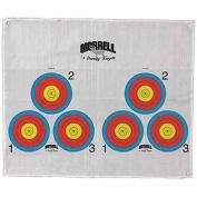 Morrell Targets Polypropylene Archery Target Face, 3 Spot