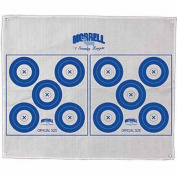 Morrell Targets Polypropylene Archery Target Face, 5 Spot