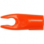Bohning Blazer Double Lock Pin Nock, Neon Orange