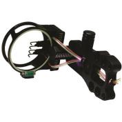 .30-06 KP Bow Sight Aluma 4 Pin .019 Fibre with Light & Level