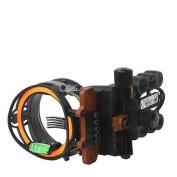 Copper John TST 5 Pin Black Microadjustable Sight .019 with Light