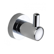 Towel Hook - Chrome Brass