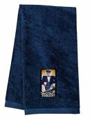 Amtrak Coast Starlight Logo Embroidered Hand Towel Navy [106]