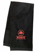 Monon Hoosier Line Embroidered Hand Towel Black [56]