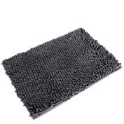 Doinshop Non Slip Absorbent Bath Mat Carpet Bathroom Shower Pad