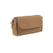 High Speed Gear Belt Mounted Multi-Use Pogey GP Pouch, USA Made, Coyote Brown