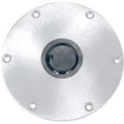 Springfield Plug-In 23cm Round Aluminium 5.1cm - 1cm Base, Satin Finish