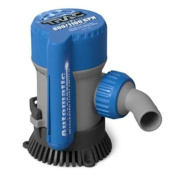 Trac Automatic 800/1100 GPH Bilge Pump with 1.9cm and 2.5cm - 0.3cm Outlets