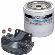 Quicksilver Water Separating Fuel Filter, 25 Micron Minimum Used in Both Outboard and MerCruiser Applications