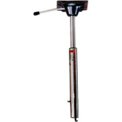 Springfield Spring-Lock Power-Rise Adjustable Stand-Up Pedestal 60cm - 70cm , Stainless Steel Polished Finish