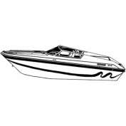 Carver Styled-To-Fit Boat Cover for Performance Style Boats