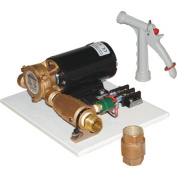 Groco C-60 12V Deck Wash Kit with PGN-50 Spray Nozzle and CV-75 Cheque Valve