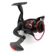 Outdoors Foldable Handgrip Gear Ratio 5.1:1 Fishing Spinning Reel Red Black