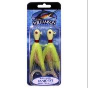 Williamson Banjo Eye Jig, 90ml, Glow Chartreuse Multi-Coloured