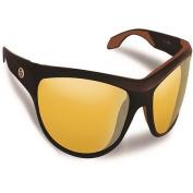 Flying Fisherman Cayo Matte Bronze with Yellow Amber Sunglasses