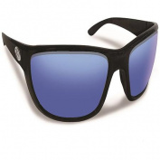 Flying Fisherman Cay Sal Black/Smoke Blue Mirror Sunglasses