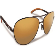 Flying Fisherman Sombrero Copper Coral with Amber Sunglasses