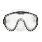 16cm Navigator Black Scuba Mask Swimming Pool Accessory for Adults