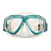 14cm Newport Green and Clear Mask Swimming Pool Accessory for Teens
