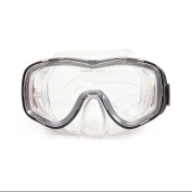 17cm Zeus Black Pro Mask Swimming Pool Accessory for Adults