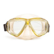 14cm Newport Yellow and Clear Mask Swimming Pool Accessory for Teens