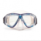 14cm Newport Blue and Clear Mask Swimming Pool Accessory for Teens