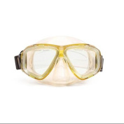 14cm Newport Yellow Pro Mask Swimming Pool Accessory for Teen/ Adults