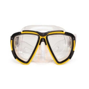17cm Kona Yellow Pro Mask Swimming Pool Accessory for Teen/ Adults